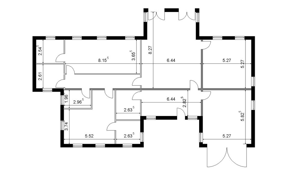 2d floor plans for estate agents for New building design plan