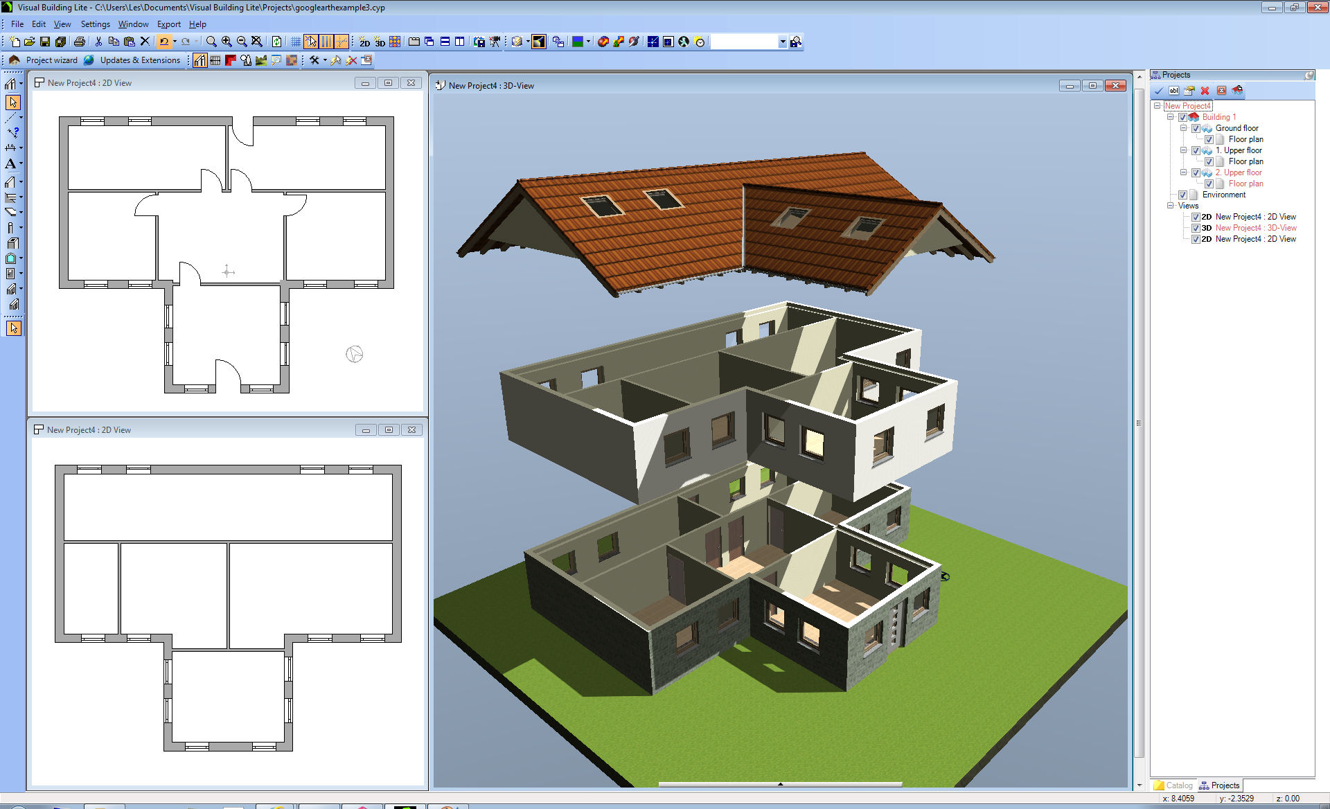 Estate agents Software to make 3d house plan