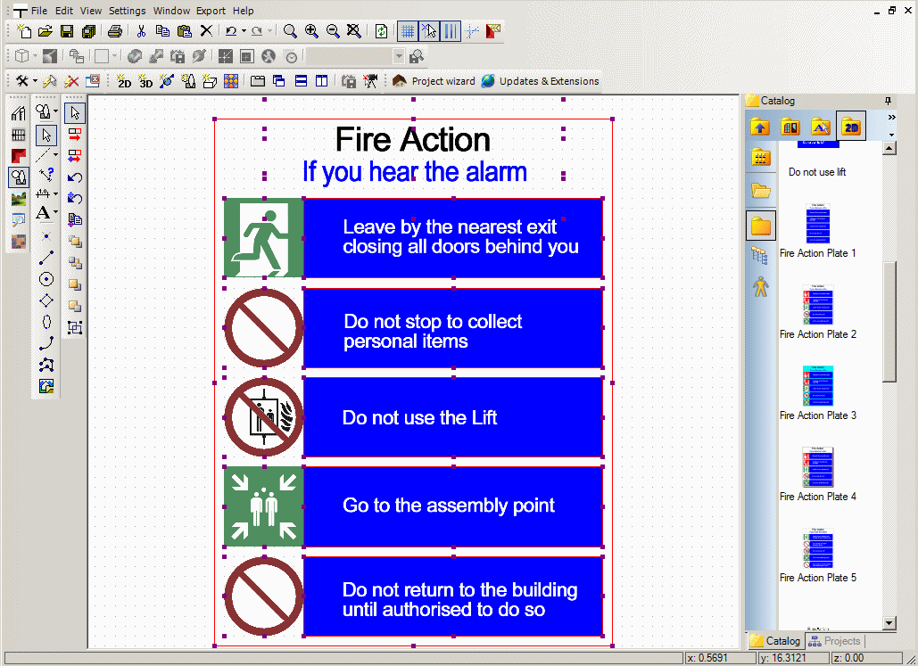 Fire escape plan for hotels for Fire plans
