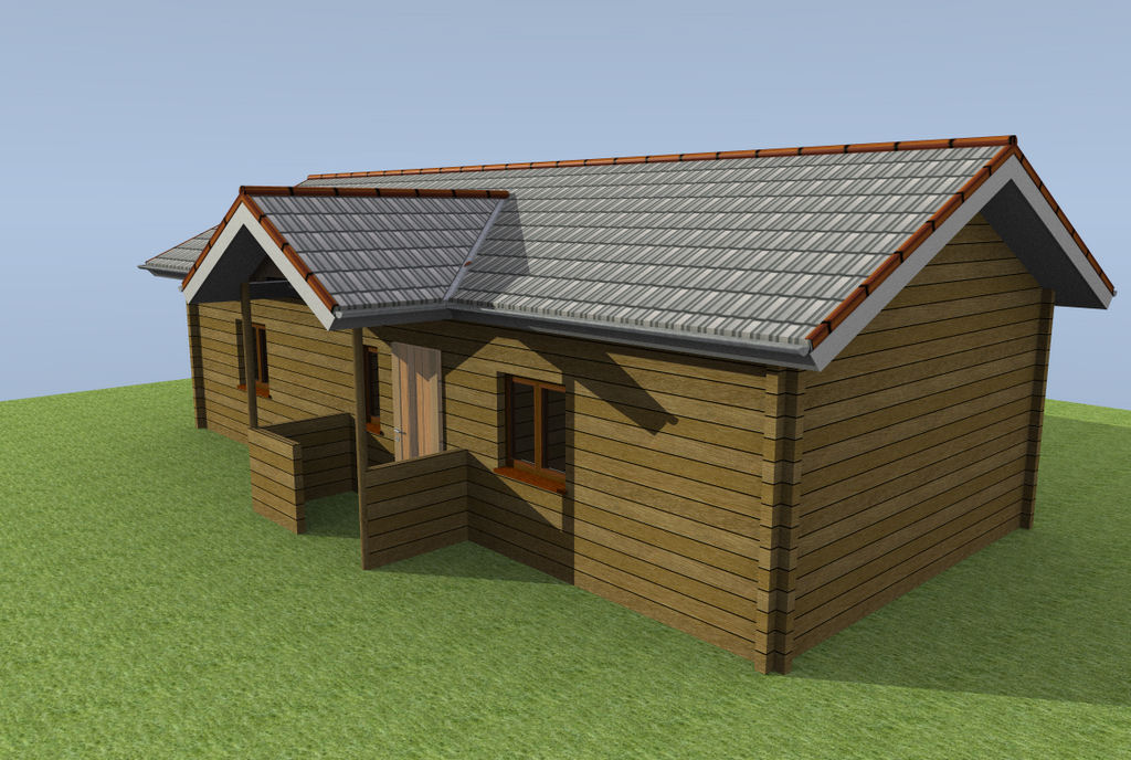 Log cabins for Garage plan software