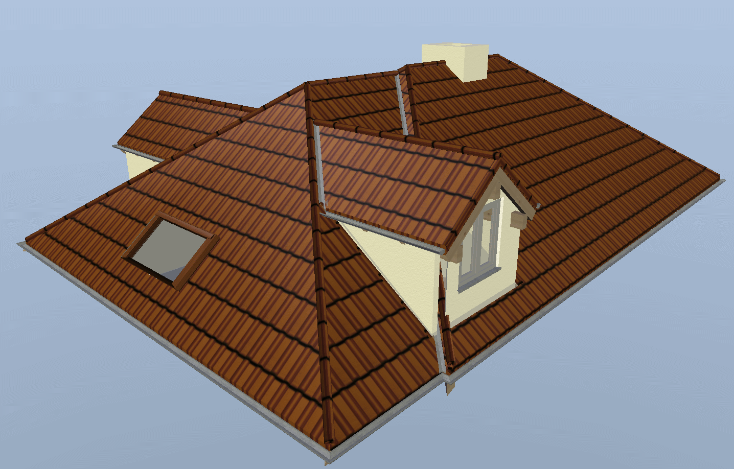 Visual building topic dormer spanning two roof lines for Roof lines