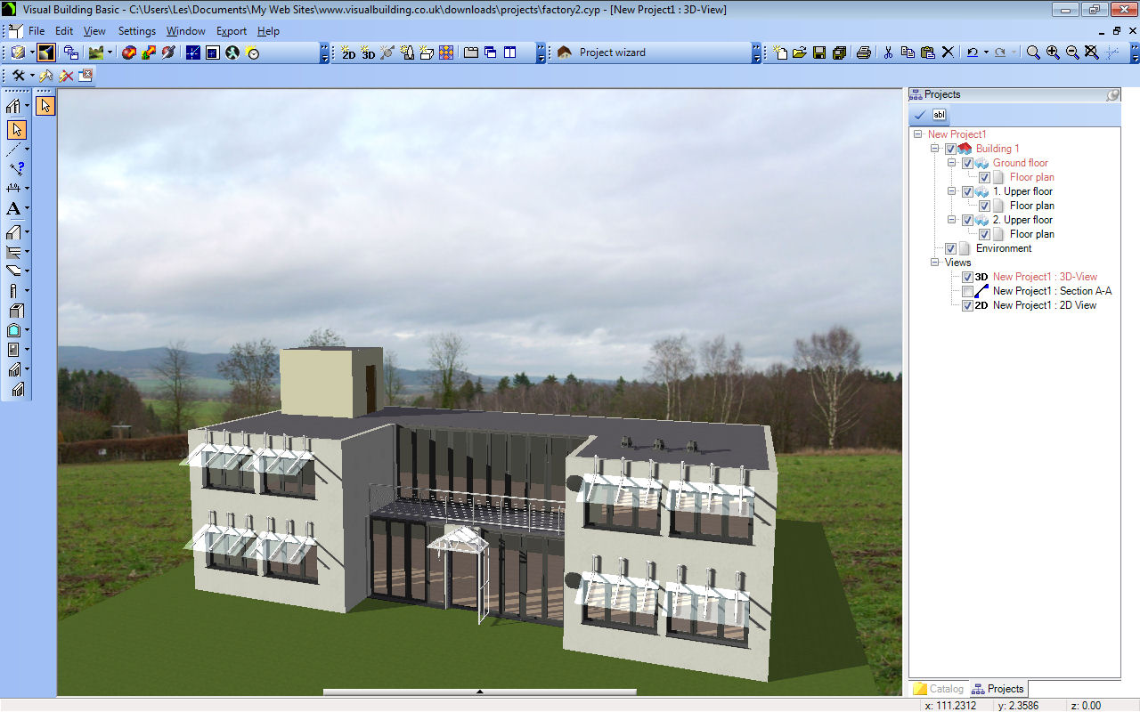 Visual building topic export visual building 3d model for Google house builder