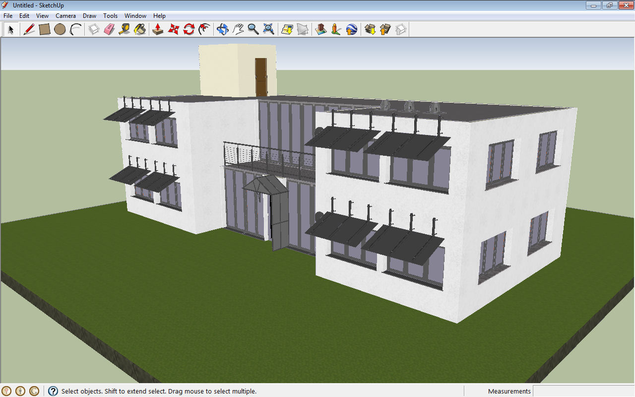 Visual building topic export visual building 3d model for Sketchup building