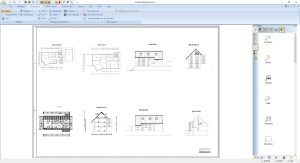 Building Plan Layout, multiple 2D views on a plan