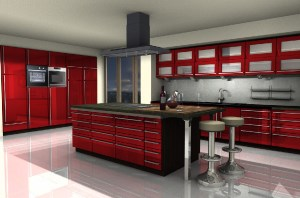 Interior design, kitchen planning, requires additional Kitchen Collection catalogue