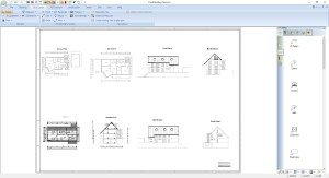 Plan Layout view, multiple plans and views on one page