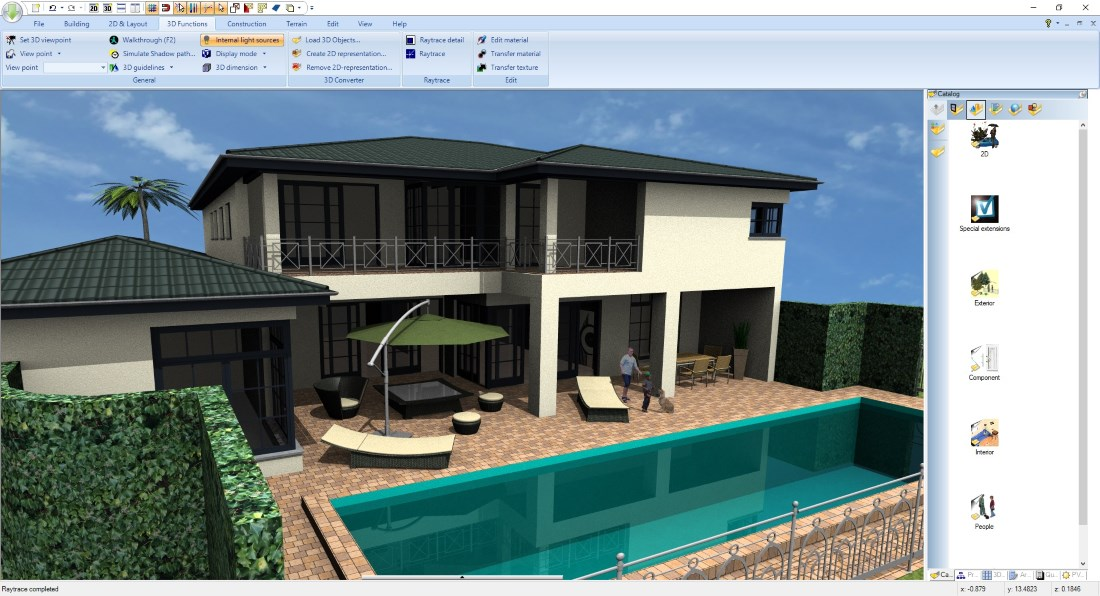 Become a 3D Architect - 3D Building example 2