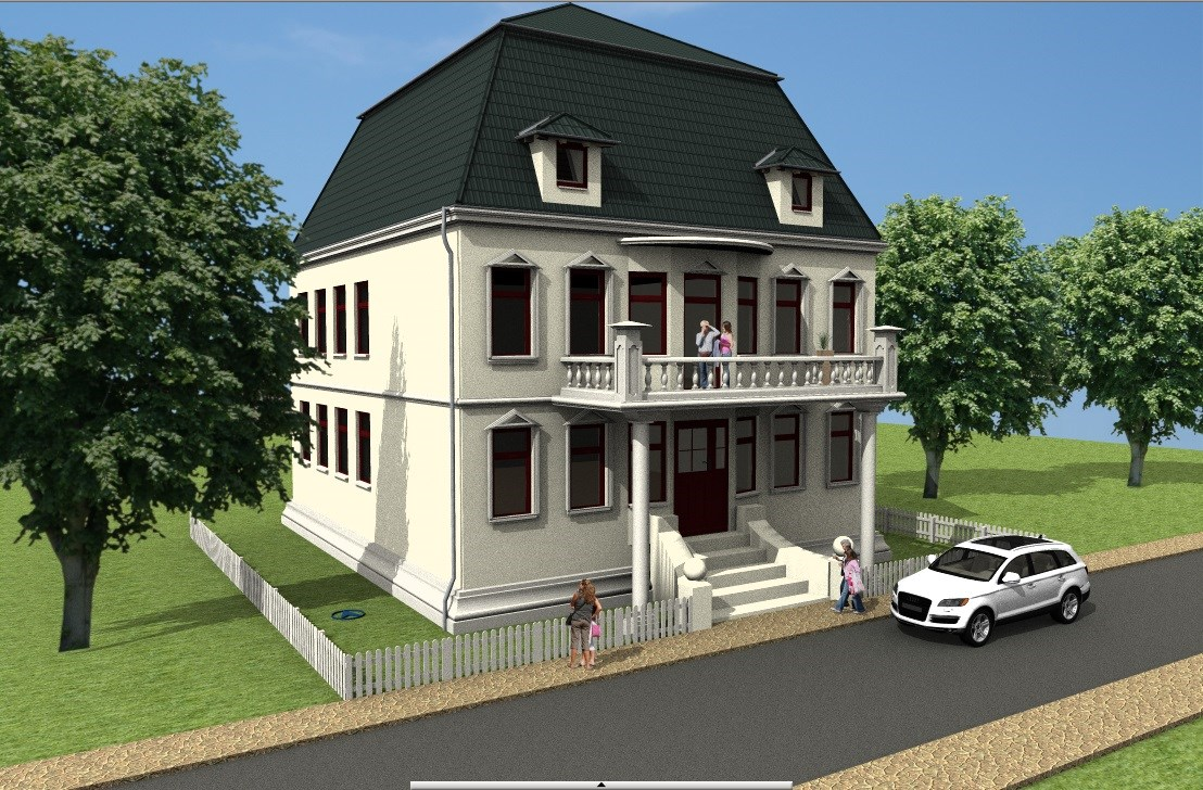 Become a 3D Architect - 3D Building example 3