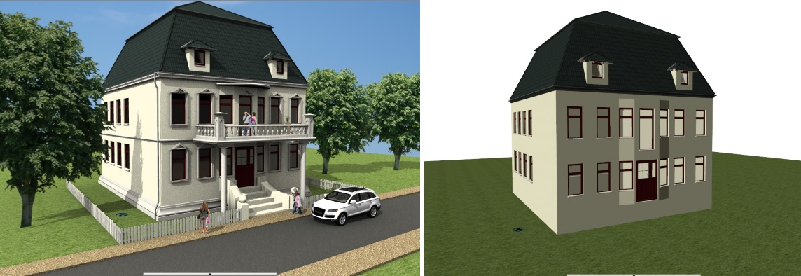 3D Constructions Building Example