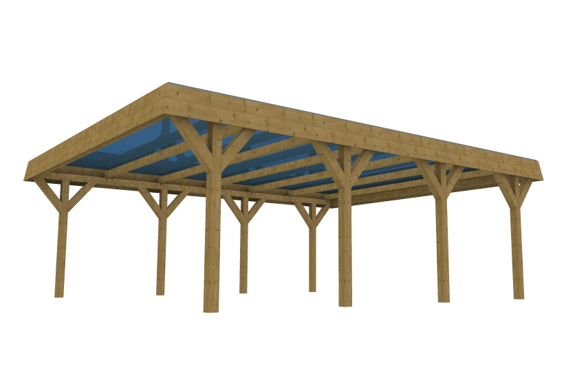 3D Constructions - Carport made with 3D Constructions