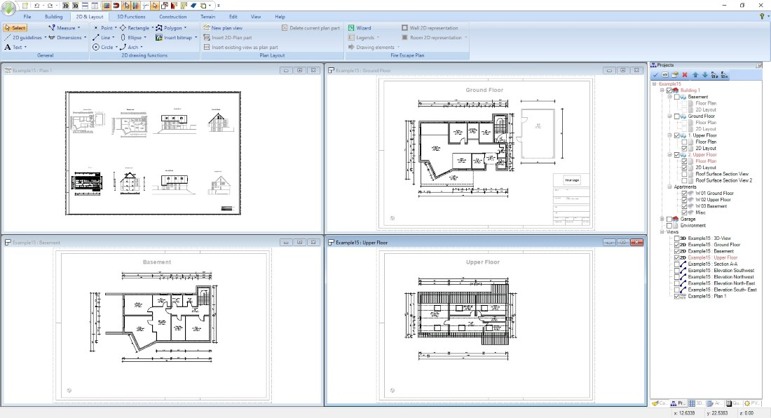 House Design Software, exterior design sample