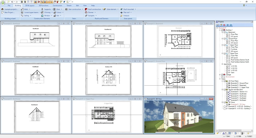 Software for planning applications
