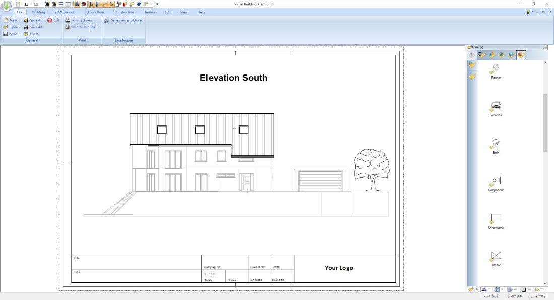 Planning Applications Elevation View