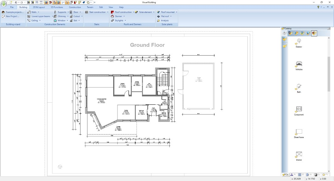 Planning Applications Floor Plan