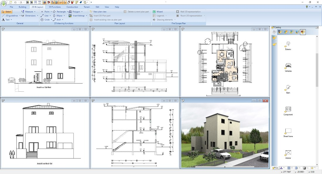 Software for self-builders, example project 2