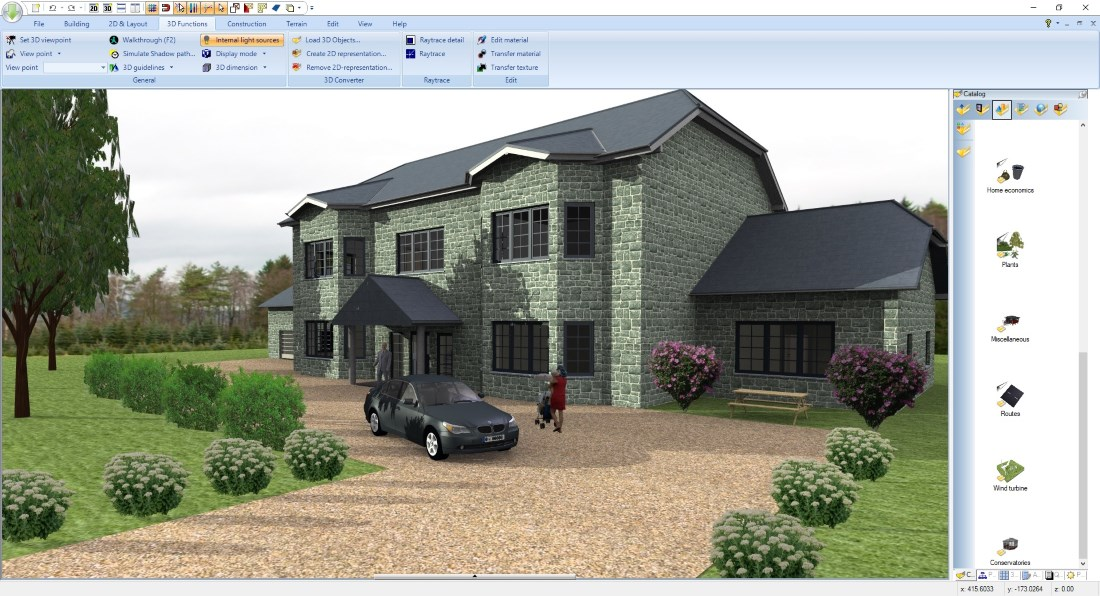 Software for self-builders, 3D Visualisation