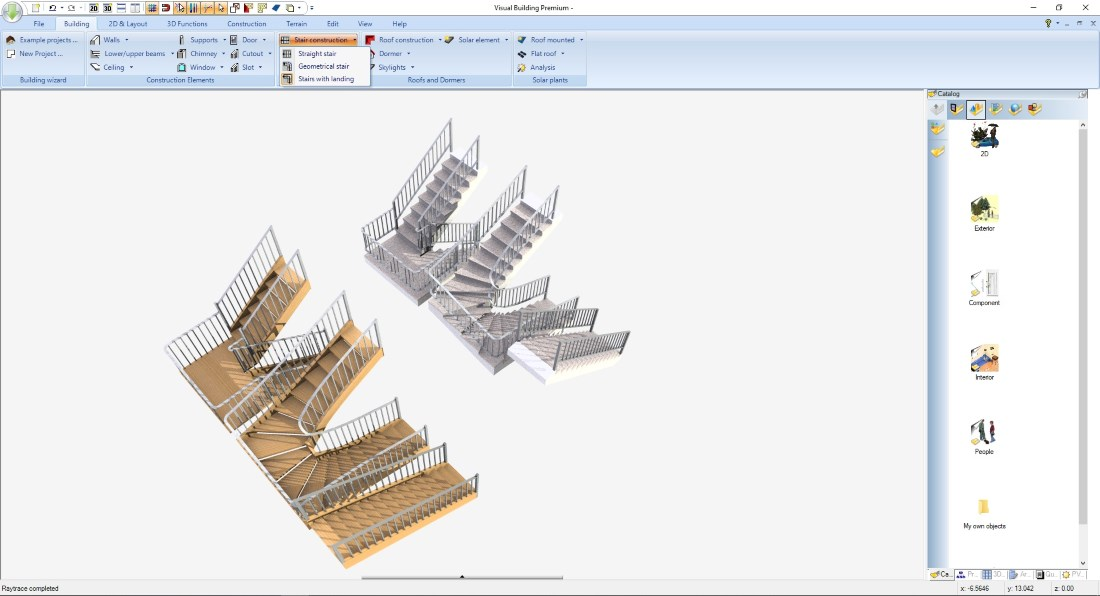 Stairs - Construction types and variants