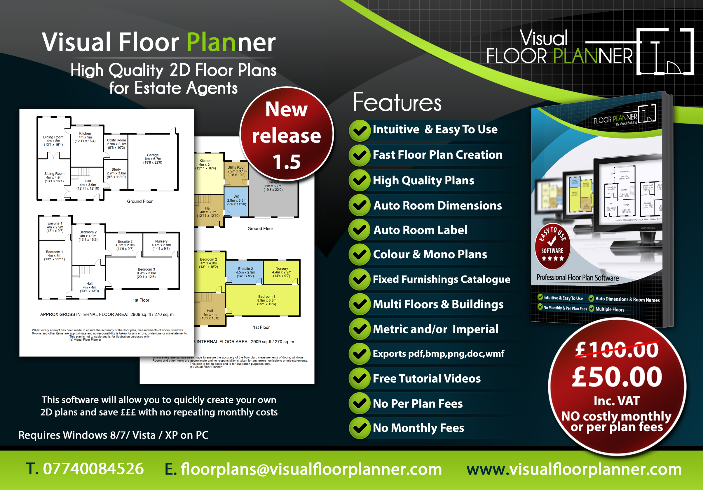 Free Easy 2d Floor Plan Software Filememo