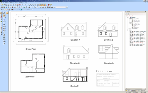 Visual Building Home