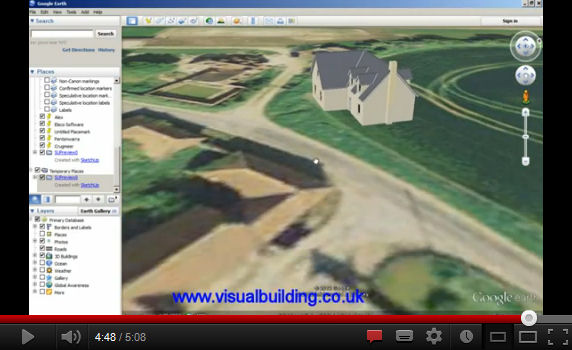 Export 3D Building to Google Earth