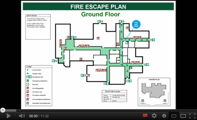 We offer two software solutions to create Fire Escape Plans