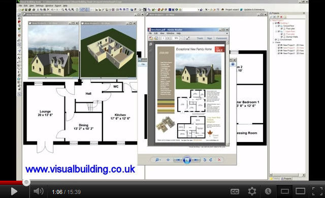visual building for estate agents 1 tutorial