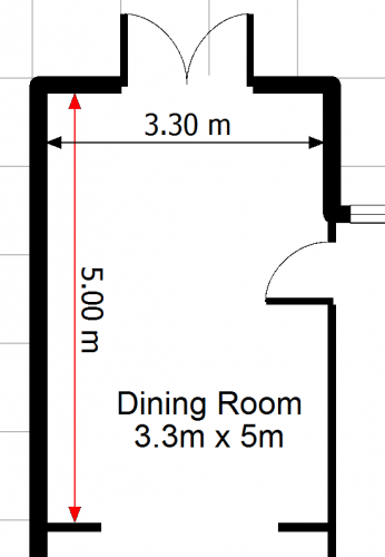 Visual Building Topic How To Show Perimeter Dimensions 1 1